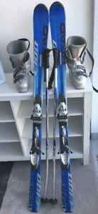 Women's Downhill Ski Set