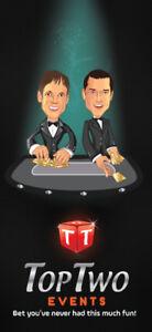 Roulette, Poker, Blackjack, C&A Services; Last Minute Booking