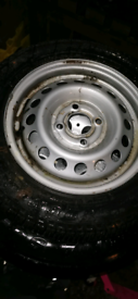 Nissan new wheel and tyre