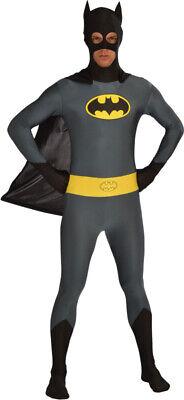New Batman Bodysuit Adult Costume Medium