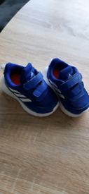 New Boys Baby Adidas trainers size 2k 3.8inch BNWT