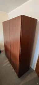 IKEA wardrobe medium brown