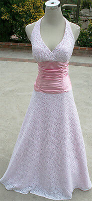 Pink Evening Party Prom Ball Gown 7 (Masquerade Prom)