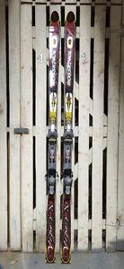Rossignol Mountain Viper X 9.3 Skis 190cm + Tyrolia D8 Bindings