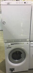 "24"" Asko white washer & dryer set $2199!! as kitch"