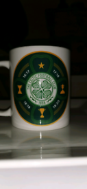 Celtic FC Quadruple Treble Cup