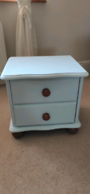 Duck Egg Blue Pine Drawers