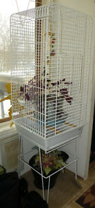Large Bird cage with stand