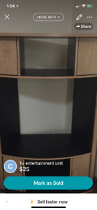 Tv unit stand $25 or best offer