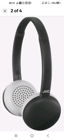 JVC wireless headphone in good condition in throw away price