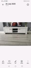 White oak TV unit