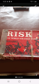 Risk board game 1960