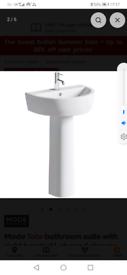 Bathroom sink unit basin brand new mode