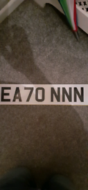 EATON style number plate for Audi, Mercedes, BMW , Ford