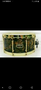Udrum 3mm brass snare drum