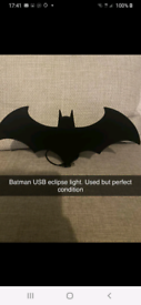 Batman eclipse light..