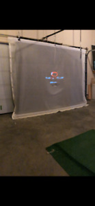 Golf Impact Screen