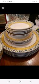 Wedgewood dinner set