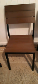 IKEA Wooden chairs *6 - very good condition