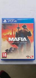 Mafia Definitive Edition PS4 Game Playstation
