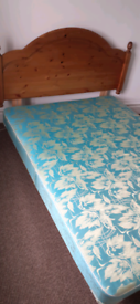 FREE double bed base and headboard
