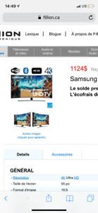 Tv 55 Plasma 900$ nego
