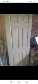 Plain white internal doors