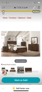 1 year old great condition Bedroom set