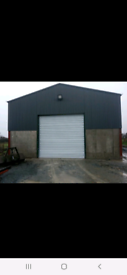 Garage shed storage unit farm yard land wanted