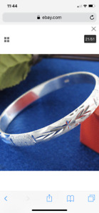 Women's/men's sterling silver jewellery