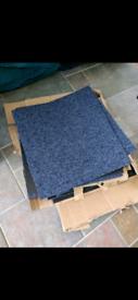 Carpet tiles - new unused
