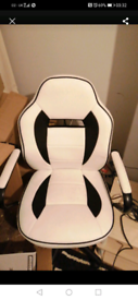 Computer desk gaming chair