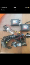 Hid kit for a van transit ect h4 bulbs
