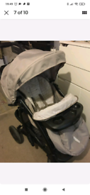 Graco bear and friends travel system pushchair