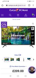 Hisense 32 inch smart led Tv, Hardly used new condition