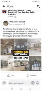 Drywall Boarding Job