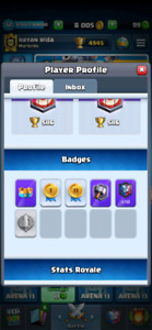Clash royale and clash of clans accounts