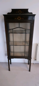 Antique China / Display Cabinet Vintage Furniture