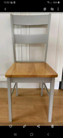 Dining/kitchen table and set of chairs