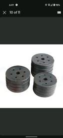 Barbell / dumbbells set