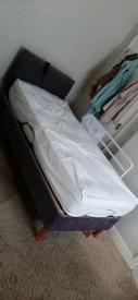 Electric / Adjustable Single Beds x 2