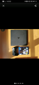 PS4 slim 500gb free FIFA 18 free hdmi cable free controller