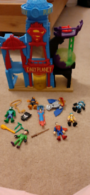 Imaginext house plus characters