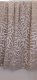 2 Pairs of Curtains & Cushion