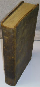 1853 Antique Book Rev. John Wesley Religion Religious