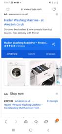Washing machine 4 months old