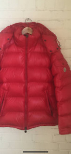 Moncler MAYA RED-EXTRA LARGE Just like from Drake Hotline Video