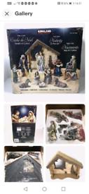 Kirkland nativity set lovely set like new all in lovely condition