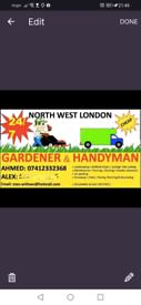 NW LONDON GARDENER LANDSCAPER AND HANDYMAN Wembley, Harrow, Green ford