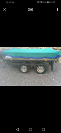 Tipping trailer ifor williams 8x5